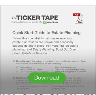Download PDF: Quick Start Guide to Estate Planning